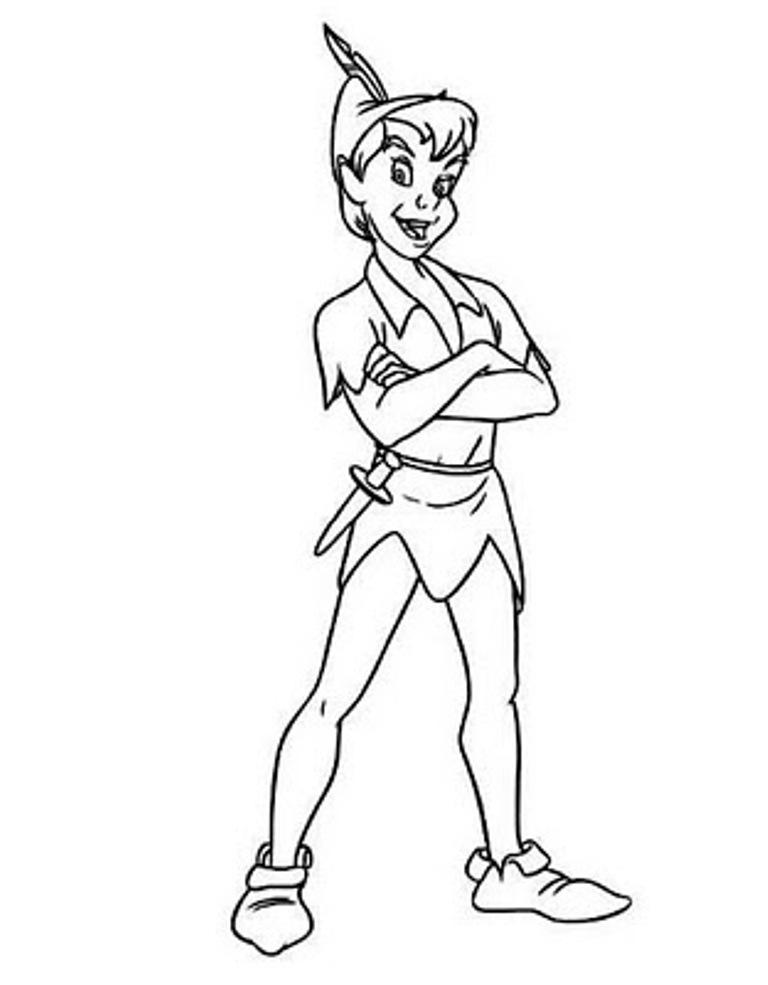 Ausmalbilder - Peter Pan, Pinocchio, Bambi, Asterix zum ausmalen ...
